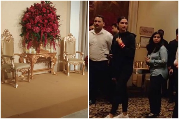 Deepika Padukone Personally Inspects Arrangements At The Leela Palace So That Her Reception Goes Perfect Hungryboo