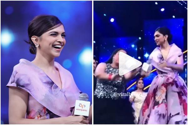Watch : Deepika Padukone Dances On Ghoomar At Asian Paints ...
