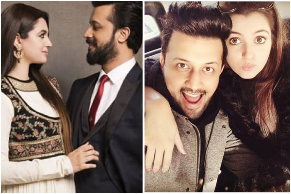 Atif Aslam Showers His Wife Sara Bharwana With Love As She Turns A ...
