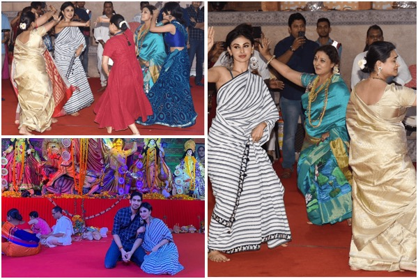 Watch  Mouni Roy Dances With Joy As She Seeks Holy Blessings