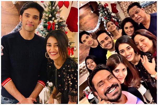 Christmas Joy Cast.Erica Fernandes Celebrates Joyous Christmas With Cast Of