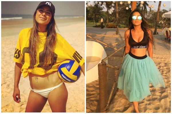 0f45ca14a48e The television star and uber-hot looks, Nia Sharma is undoubtedly one of  the most popular actors of the small screen. And currently she is  holidaying in Goa ...
