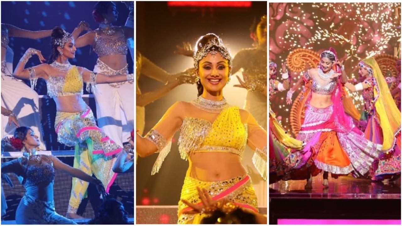 Shilpa Shetty Spellbinds Fans With Her Bharatnatiyam
