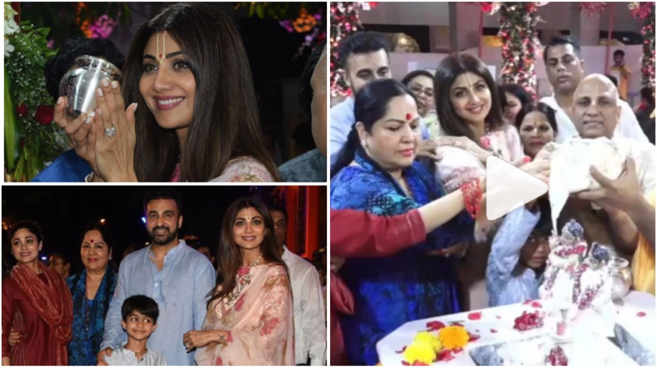 Shilpa Shetty Drenches In The Celebrations Of Holy