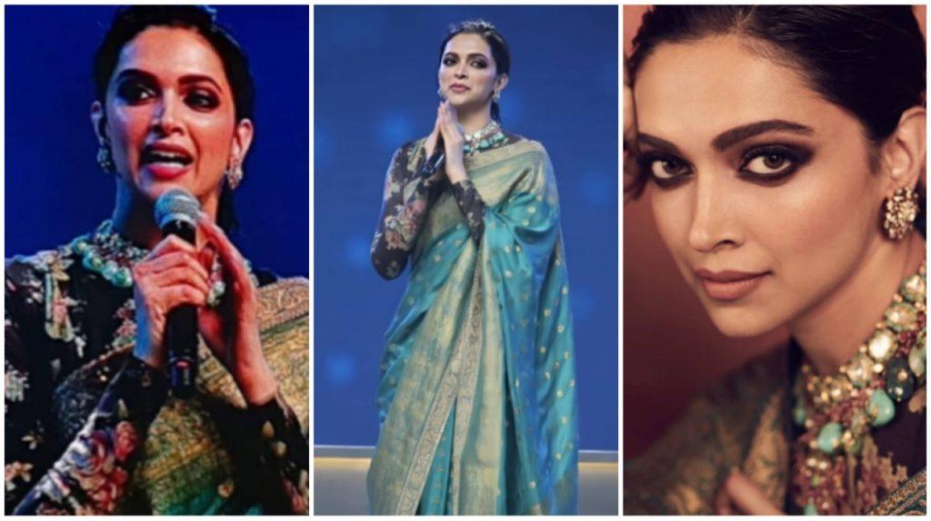 Deepika Padukone Looks Royal As She Decks Up In Sabyasachi ...